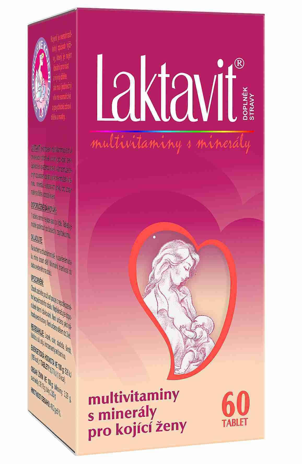 VitaHarmony Laktavit multivitaminy pro kojící ženy 60 tbl.
