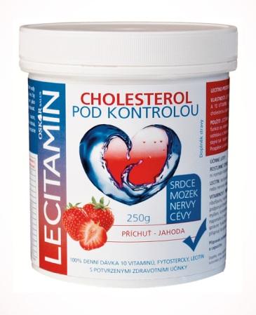 Oskar-salus Lecitamin lecitino-proteinový nápoj jahoda 250 g
