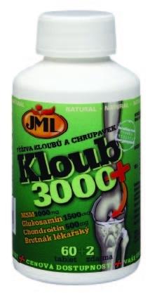JML Kloub 3000+ 60 tbl. + 2 tbl. ZDARMA