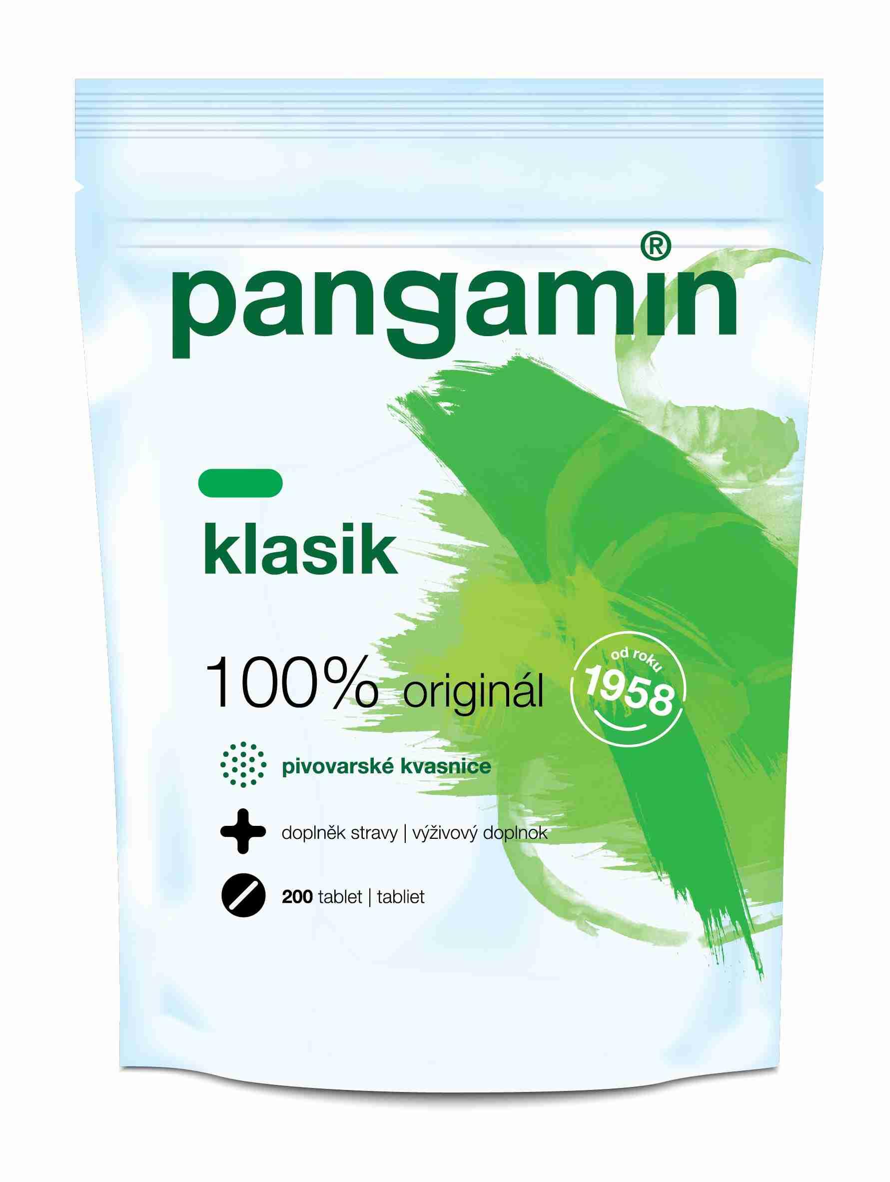 Rapeto Pangamin se sladovým extraktem Klasik sáček 200 tbl.