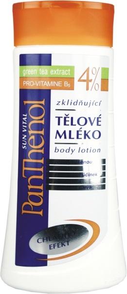 Vivaco Panthenol Tělové mléko se zeleným čajem 4% 250 ml
