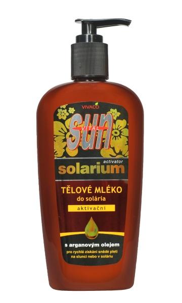 Vivaco Aloe Vera Activátor - aktivační mléko do solária 250 ml