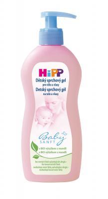 HIPP Dětský sprchový gel na tělo a vlásky 400 ml