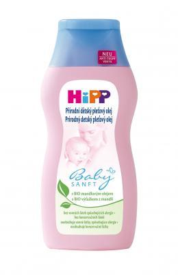 HIPP Dětský jemný pleťový olej 200 ml