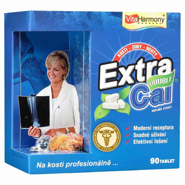 VitaHarmony ExtraCal Double zdraví kostí 90 tbl.