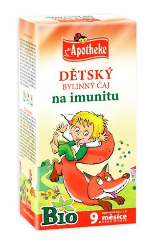 Apotheke Bio Dětský bylinný čaj na imunitu 20x1.5g