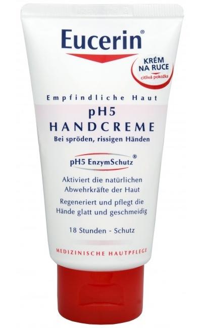 Eucerin pH5 Regenerační krém na ruce pro citlivou pokožku 75 ml