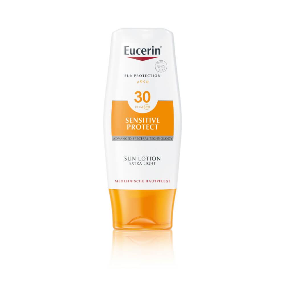 Eucerin Sun Extra lehké mléko na opalování SPF 30 150 ml