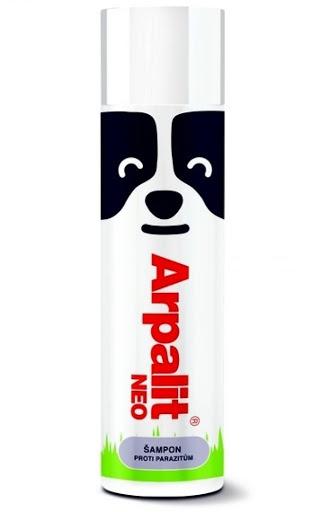 Aveflor Arpalit Neo šampon proti parazitům s bambusovým extraktem 250 ml