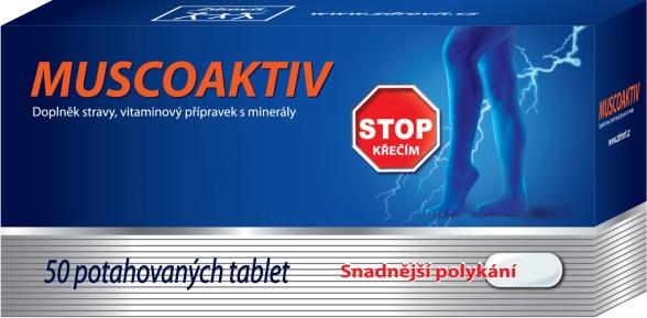 NP Pharma Ostrow Mazowiecka Zdrovit Muscoaktiv Stop křečím 50 tbl.