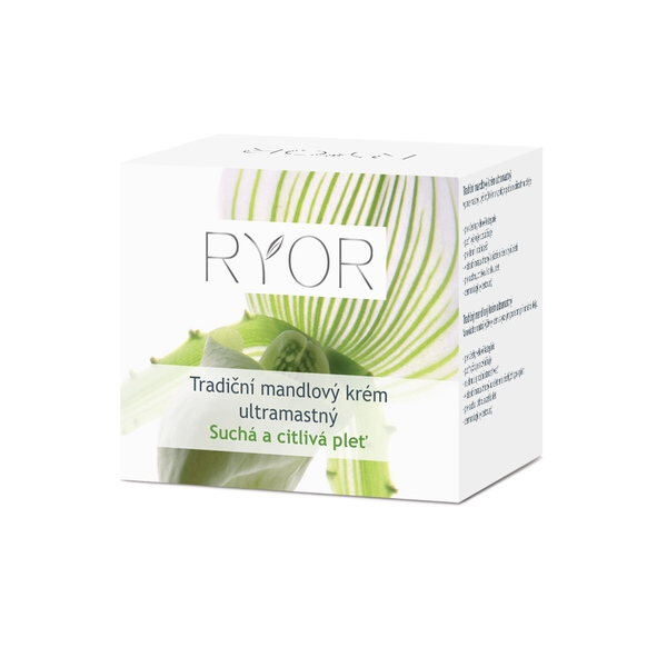 Ryor Tradiční mandlový krém ultramastný 50ml