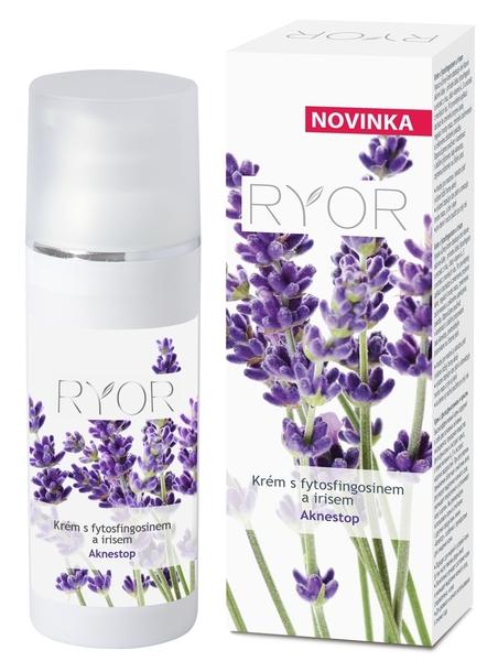 Ryor Krém s fytosfingosinem a irisem na problematickou pleť Aknestop 50 ml