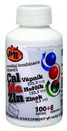 JML CalMaZin 100 tbl. + 8 tbl. ZDARMA