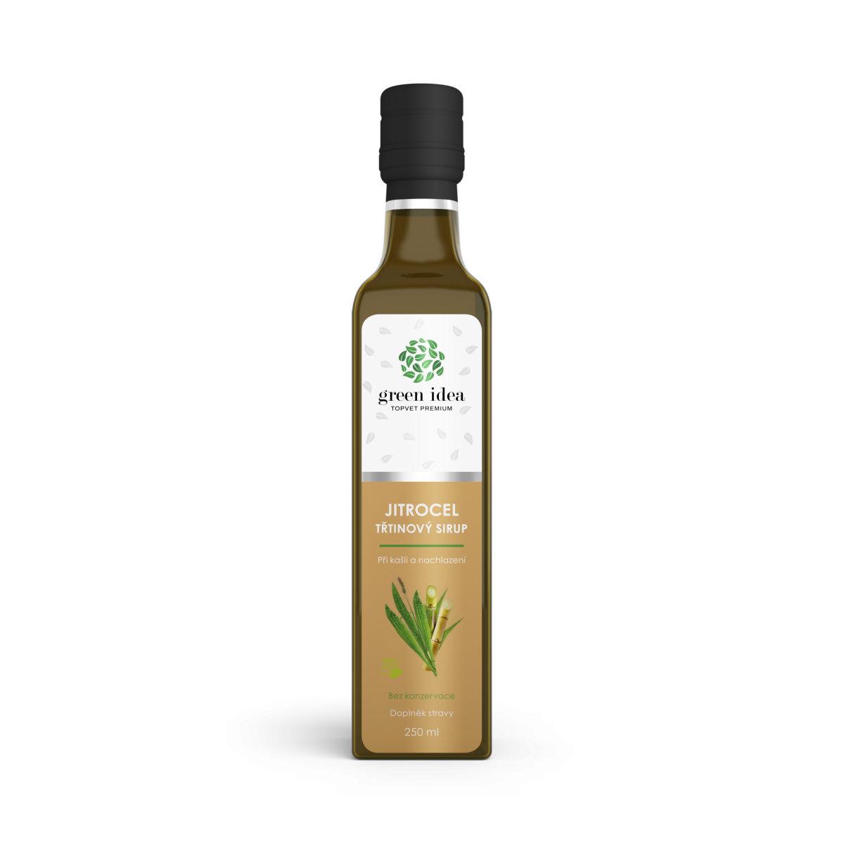 Safari Topvet Jitrocelový dětský sirup s fruktozou 300 g