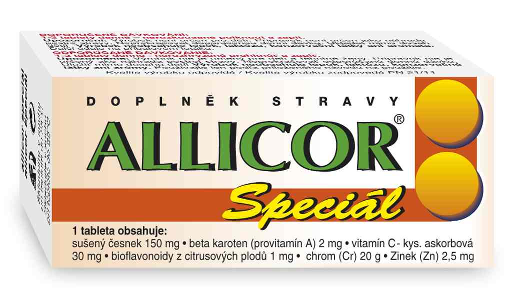 Naturvita Allicor Speciál 60 tbl.
