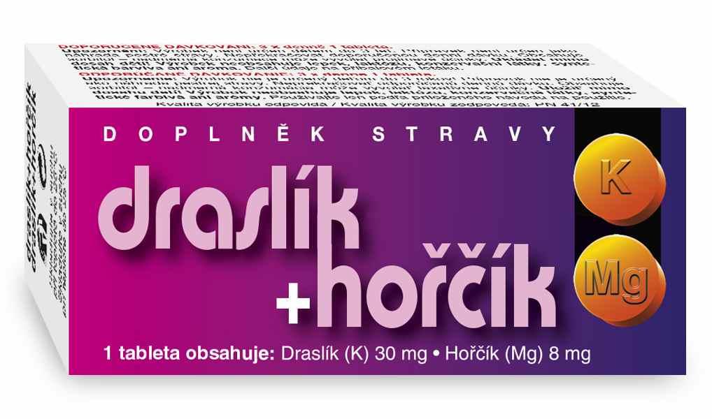 Naturvita Draslík + Hořčík 60 tbl.