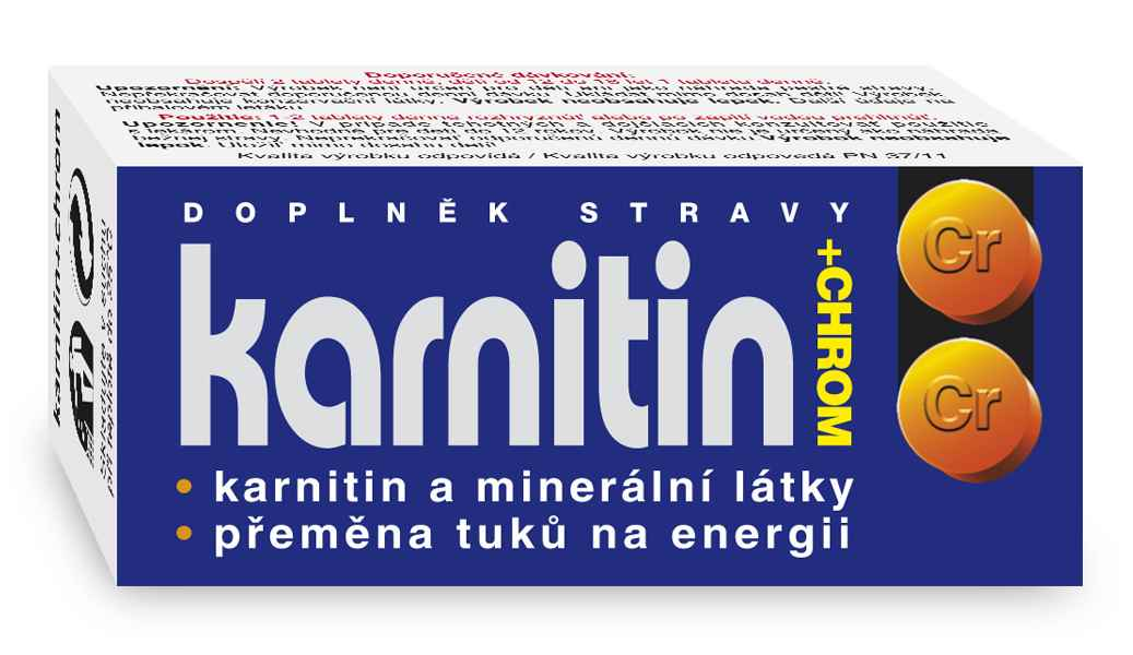 Naturvita Karnitin + chrom 50 tbl.