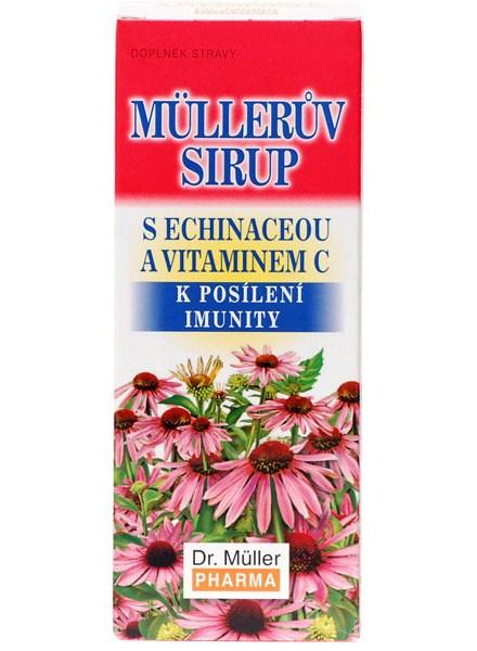 Dr. Müller Dr. Muller Müllerův sirup s echinaceou a vitaminem C 130g