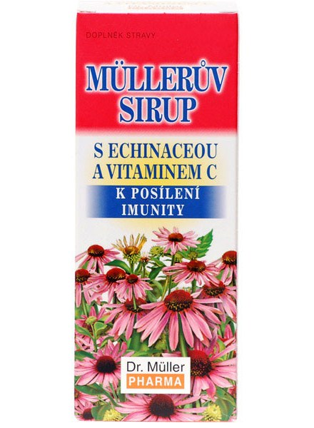 Dr. Müller Dr. Muller Müllerův sirup s echinaceou a vitaminem C 320g