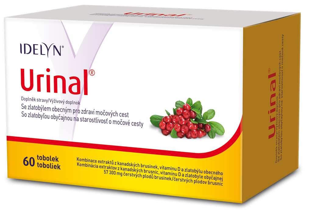 Walmark Urinal se zlatobýlem 60 tob.