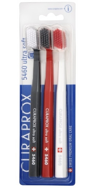 Curaprox Velmi jemný zubní kartáček 5460 Ultra Soft 3 ks