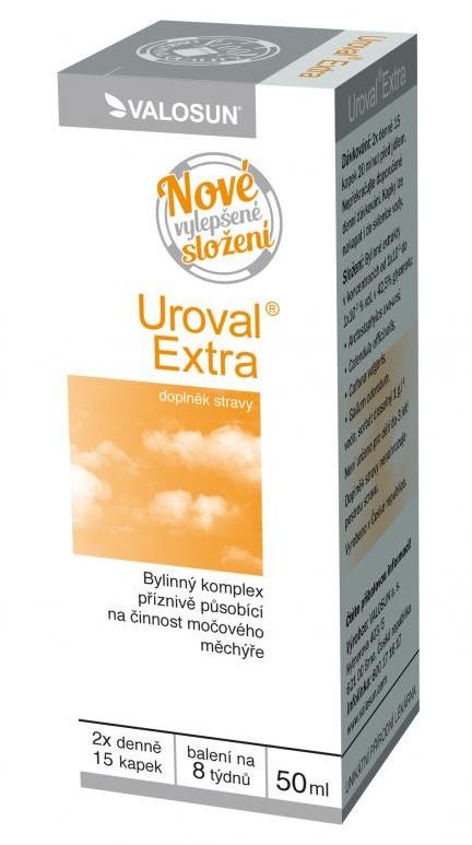 Valosun Uroval Extra 50 ml