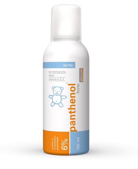 Omega Pharma Panthenol Forte 6 % dětský sprej 150 ml
