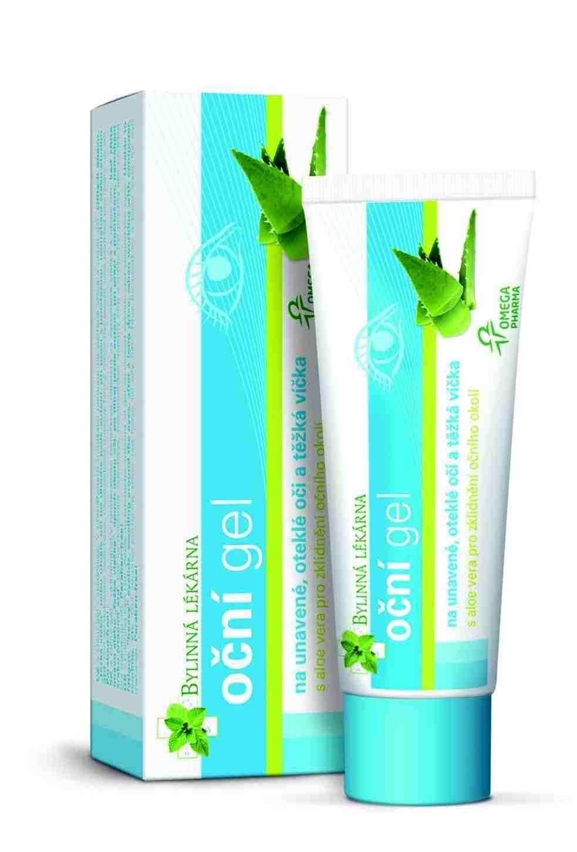 Omega Pharma Oční gel - zklidňující 25g