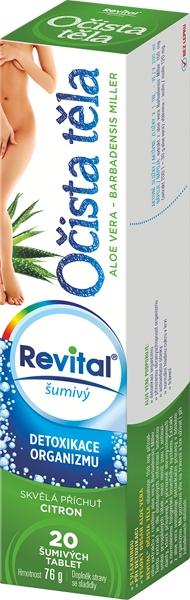 Vitar Revital Očista těla tbl.eff. 20 Aloe Vera base
