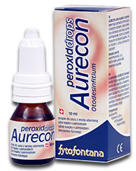 Herb Pharma Aurecon ušní kapky s peroxidem 10 ml