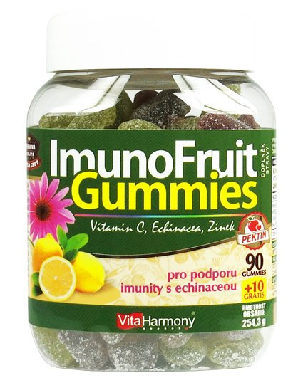 VitaHarmony ImunoFruit Gummies, 90+10 gummies