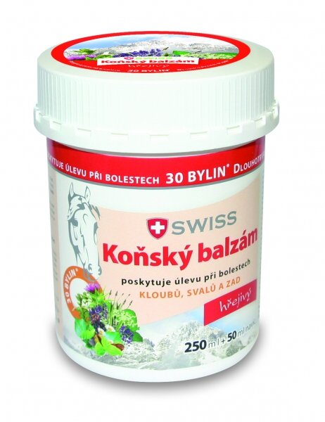 Simply You Koňský balzám SWISS hřejivý 250 ml + 50 ml