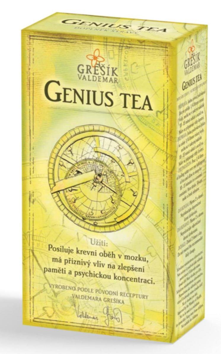 Grešík Genius Tea bylinný čaj sypaný 50 g