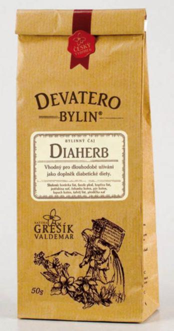Grešík Diaherb čaj sypaný 50 g Devatero bylin
