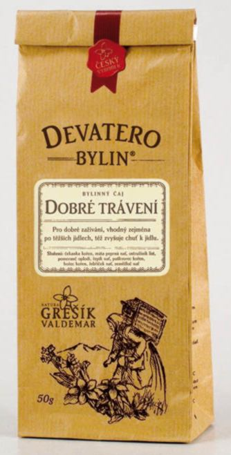 Grešík Dobré trávení čaj sypaný 50 g Devatero bylin