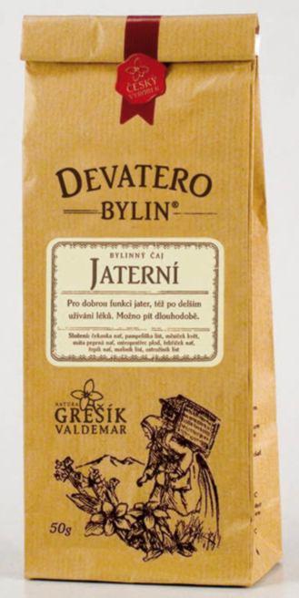 Grešík Jaterní čaj sypaný 50 g Devatero bylin