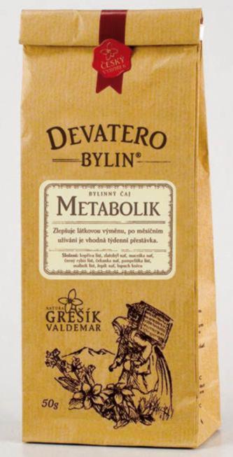 Grešík Metabolik čaj sypaný 50 g Devatero bylin