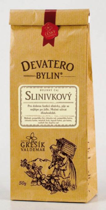 Grešík Slinivkový čaj sypaný 50 g Devatero bylin