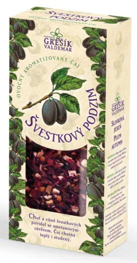Grešík Švestkový podzim ovocný čaj sypaný 100g