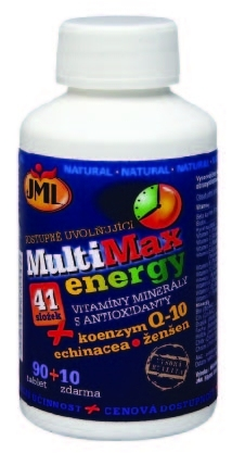 JML Fitness Line, s.r.o. JML MultiMax Power energy 30 tbl. + 2 tbl. ZDARMA