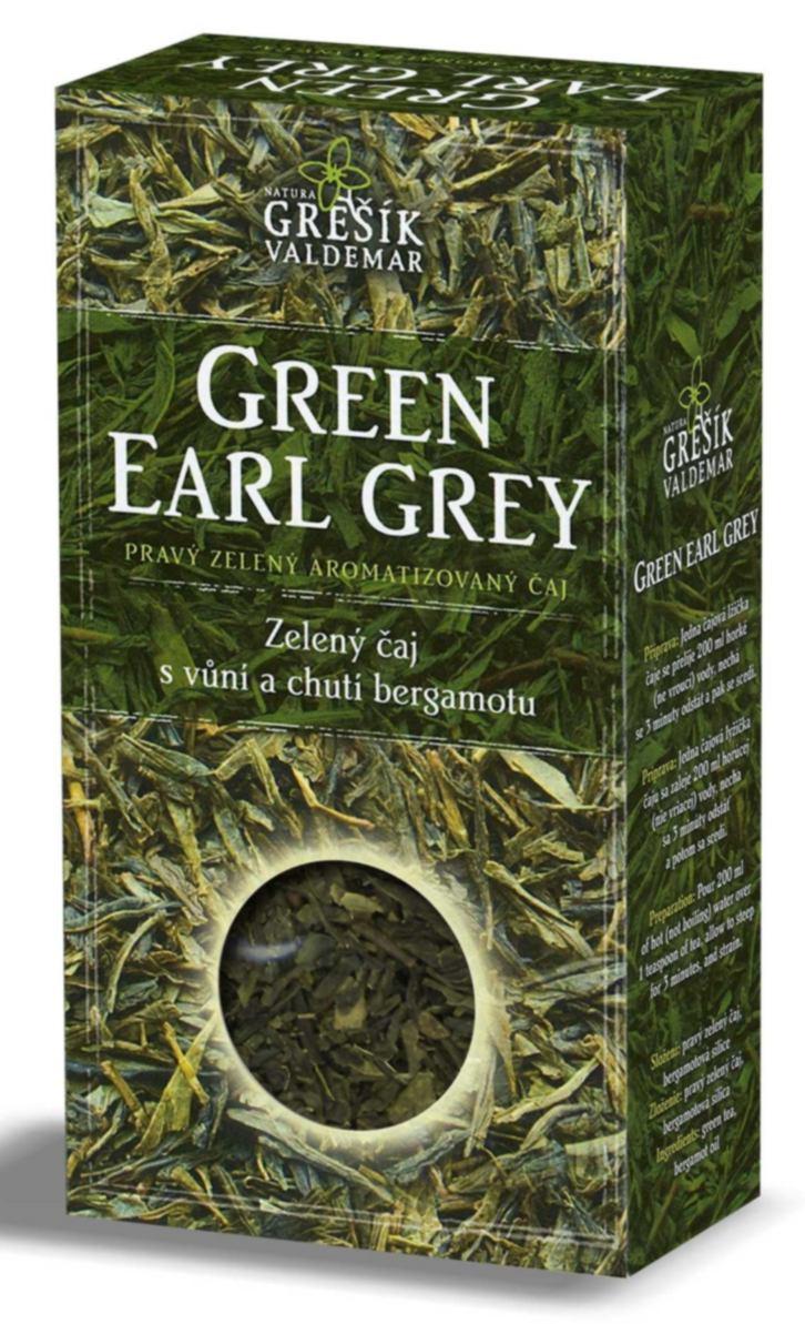 Grešík Green Earl Grey sypaný 70 g