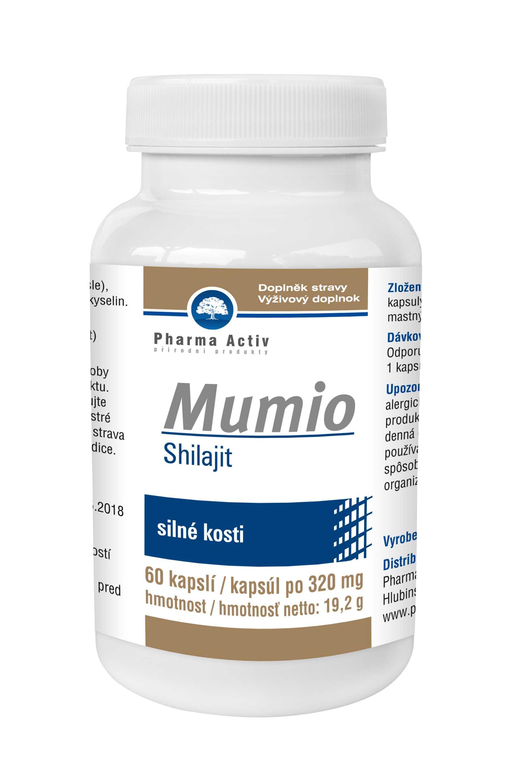 Pharma Activ Mumio Shilajit 60 kapslí