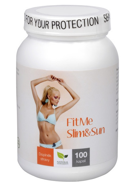 Natural Medicaments FitMe Slim & Sun 100 kapslí
