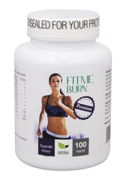 Natural Medicaments FitMe Burn 100 kapslí