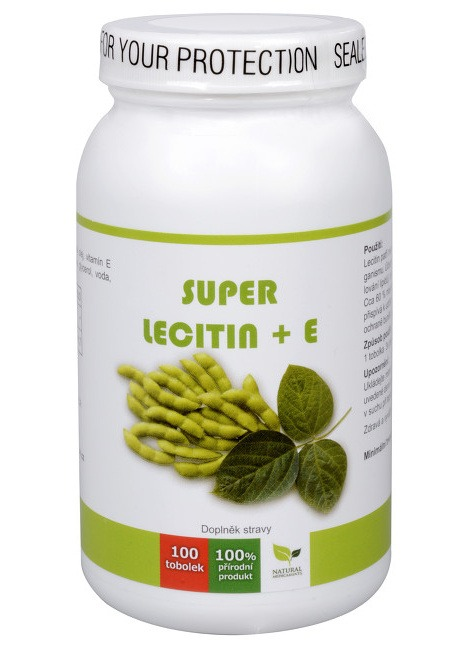 Natural Medicaments Super Lecitin + E 100 kapslí