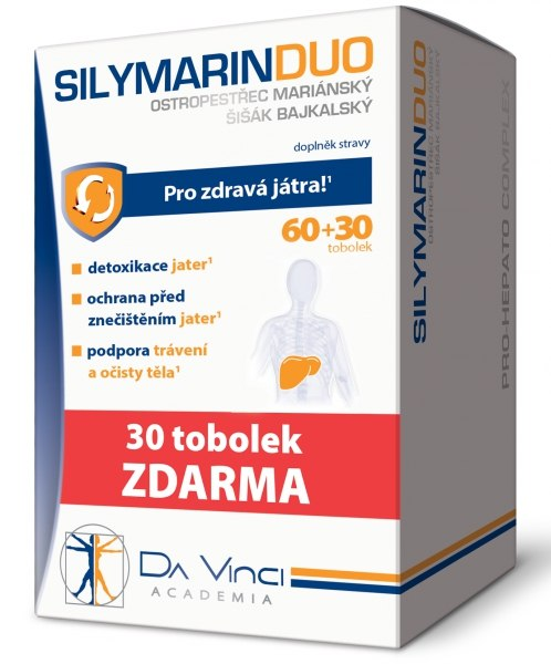 Simply You Silymarin DUO 60 tob. + 30 tob. ZDARMA