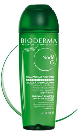 Bioderma Jemný šampon na mastné vlasy Nodé 200 ml