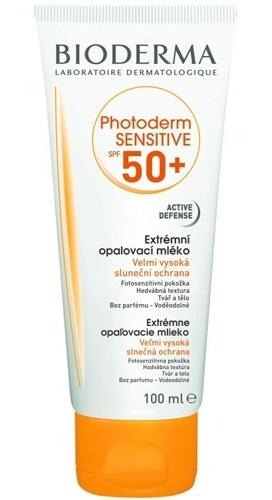 Bioderma Extrémní opalovací mléko Photoderm Sensitive SPF 50+ 100 ml
