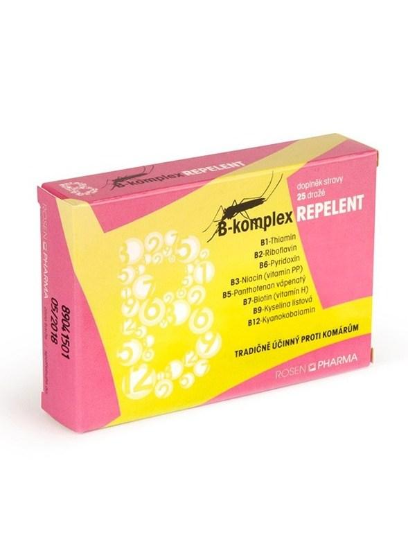 Rosenpharma Rosen B-komplex Repelent 25 dražé