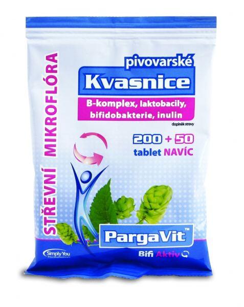 Simply You PargaVit Pivovarské kvasnice Bifi Aktiv 200 tbl. + 50 tbl. ZDARMA